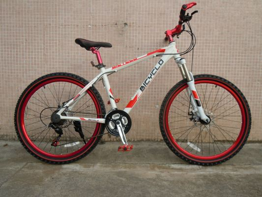 Cyclo Alloy MTB M1410A- White/Red