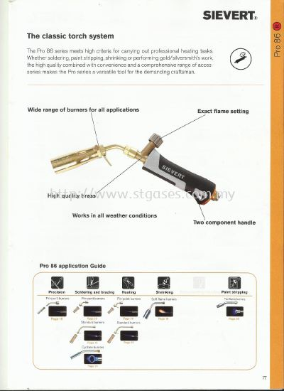 LPG HEATING TORCH