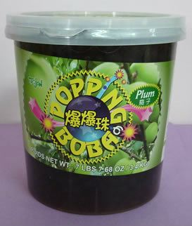 O032-SOUR PLUM POPPING JELLY  梅子
