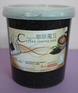 O033-COFFEE POPPING JELLY  咖啡