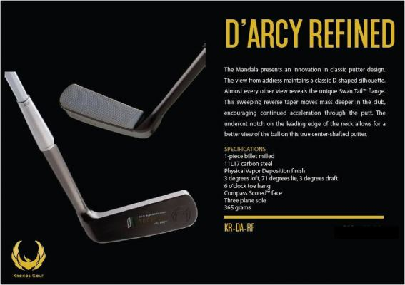 Kronos D'arcy Refined Putter