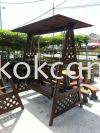 Swing with Roof  Outdoor Wooden Furniture