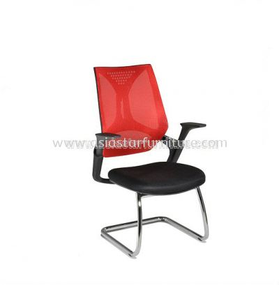 KLIPPAN VISITOR MESH CHAIR WITH CHROME BASE-AKP-3
