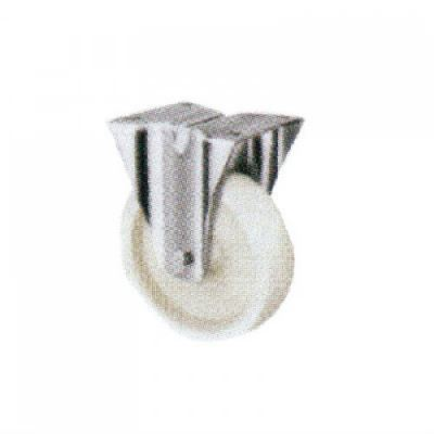 Fixed Caster c/w Polyproplene 200 series - Fixed Nylon PP