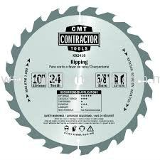 CMT Contractor saw blade