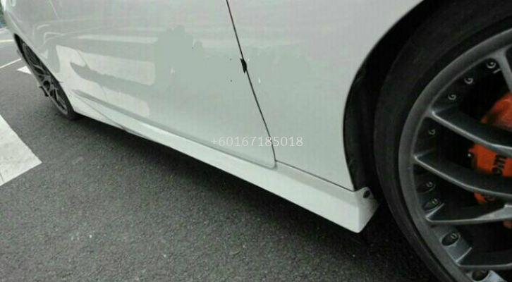 toyota mark x side skirt gs bodykit