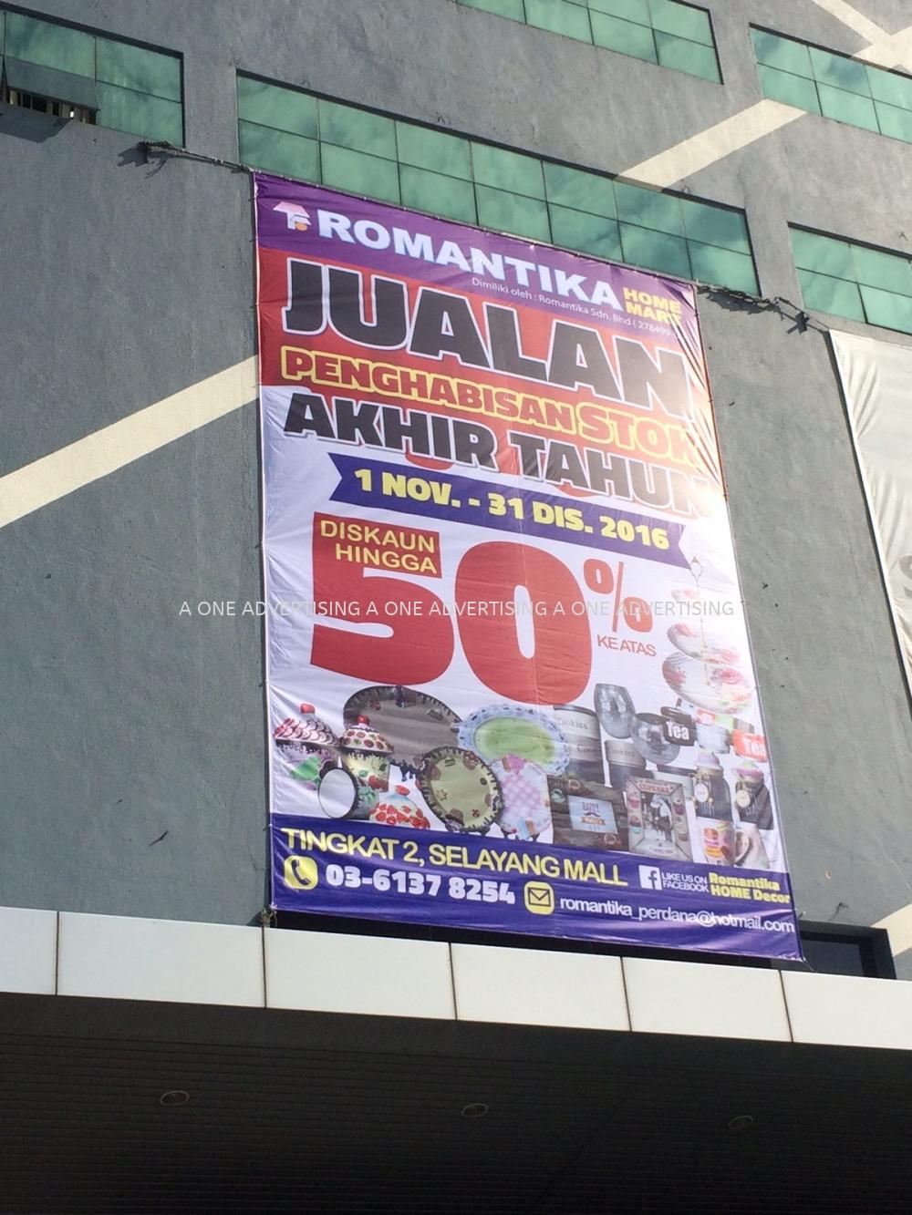 d427e4d19b6 Romantika At Selayang Mall Giant Banner Selangor, Kuala Lumpur (KL ...