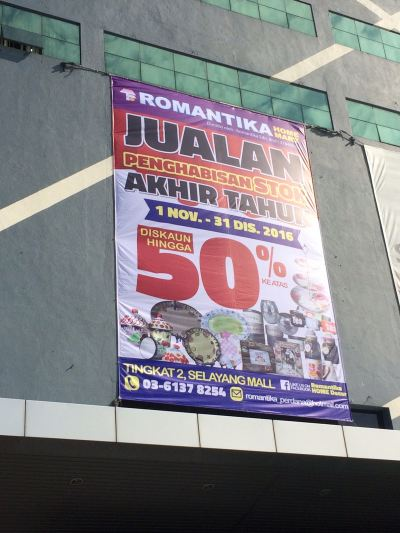 Romantika At Selayang Mall