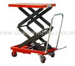 Okutsu Double Scissor Lift Table