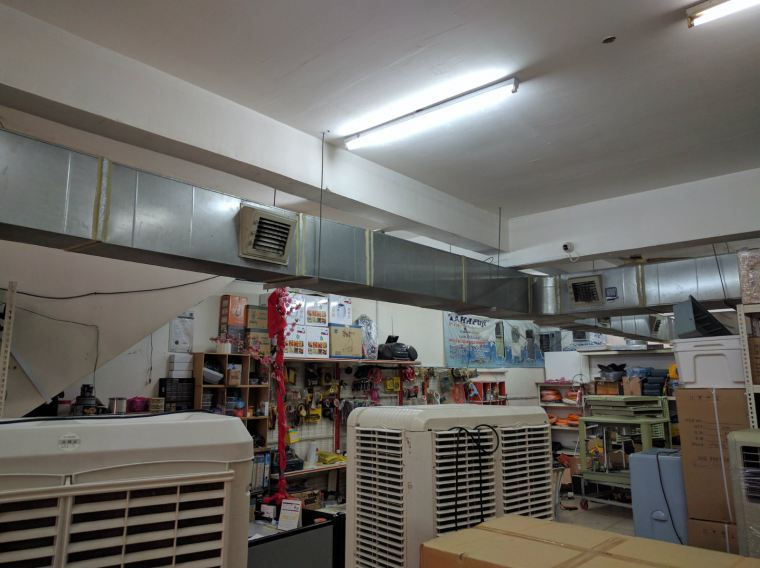 Air cooler ducting system Air Cooling System Air Cooler