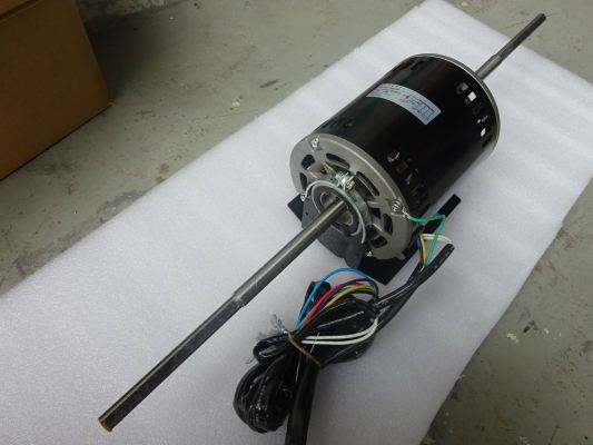 YORK HAF-471 (1PH 570W) DOUBLE SHAFT FAN MOTOR - (DCP18ELB)