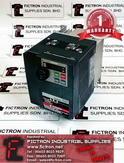 VFS15-4015PL-CH TOSHIBA Transistor Inverter Repair Service Malaysia Singapore Indonesia Thailand