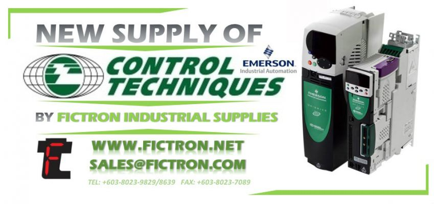 115UME300CAAAA EMERSON CONTROL TECHNIQUES Inverter Drive Supply & Repair Malaysia Singapore Thailand Indonesia Philippines Vietnam Europe & USA
