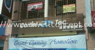 Camel Tec bayu tinggi klang Metal Hollow base box up signage