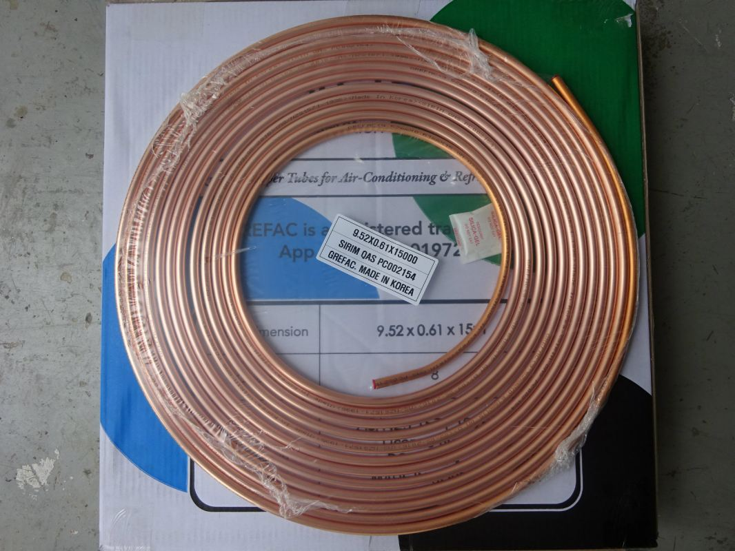 grefac Copper Tube With AS/NZS 1571 : 1995 Standard (Made In Korea) grefac Copper and Fittings Subang Jaya, Selangor, Kuala Lumpur (KL), Malaysia. Supplier, Supplies, Manufacturer, Wholesaler | Culmi Air-Cond & Refrigeration Parts Supply Sdn Bhd