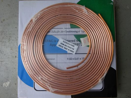 grefac Copper Tube With AS/NZS 1571 : 1995 Standard (Made In Korea) With SIRIM