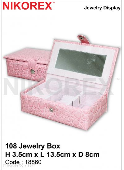 18860-108 JEWELRY BOX 3.5HX13.5LX8CMD
