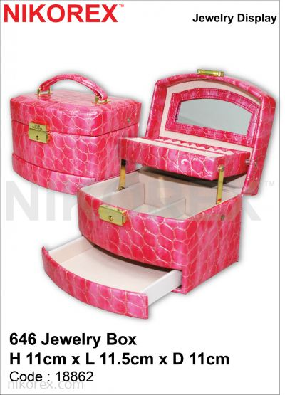 18862-646 JEWELRY BOX 11HX11.5LX11CMD