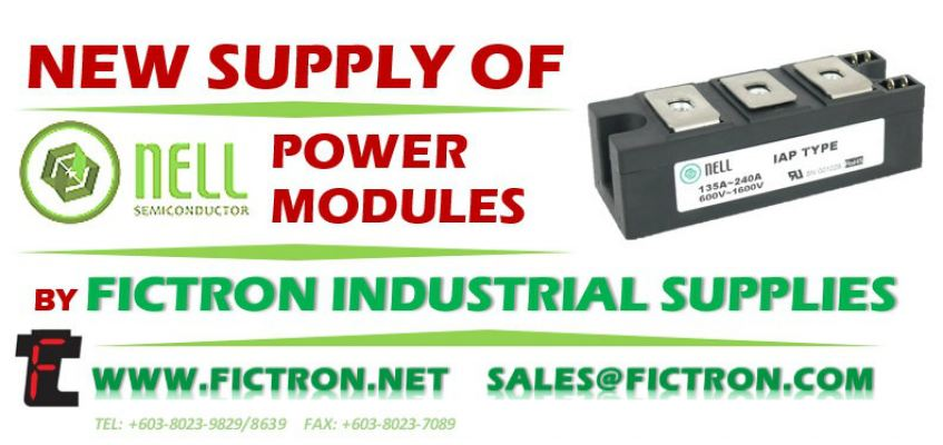 NKT110/16A NELL SEMICONDUCTOR Power Module Supply Malaysia Singapore Thailand Indonesia Philippines Vietnam Europe & USA
