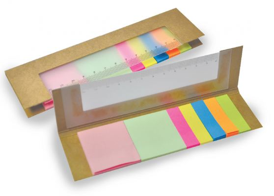 Eco Memo Pad with Ruler EME 08