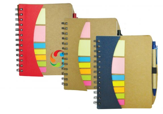 Eco Notebook with Pen ENB 7130