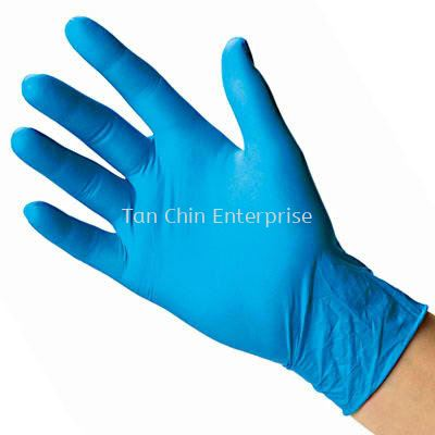 Disposable Blue Nitrile Glove 4gram