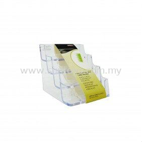4 Compartment Name Card Holder