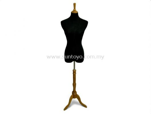 Female Torso Wooden Leg