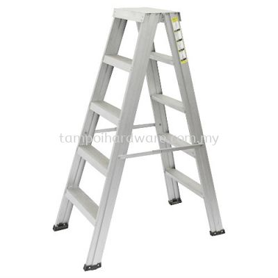Double Sided Aluminium Ladder
