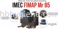 IMEC FIMAP Mr 85 Ride On Battery Operated Auto Scrubber Cleaning Machine