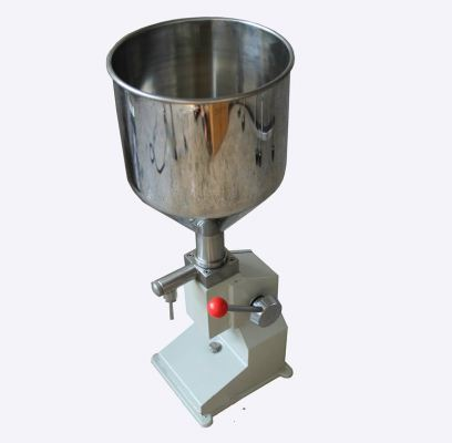A03 hand press liquid and paste filling machine
