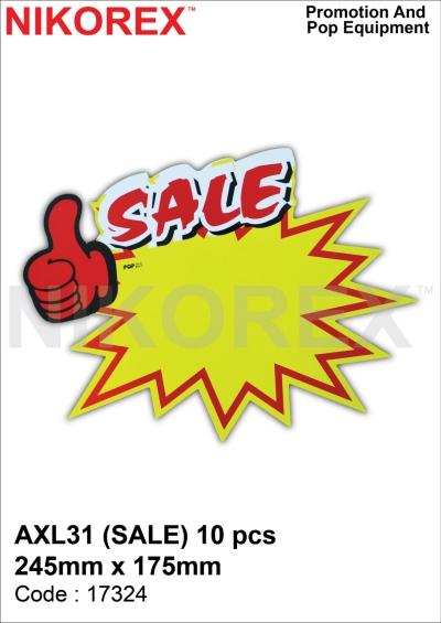 17324 - AXL31 (SALE) 10 PCS 245mm x 175mm