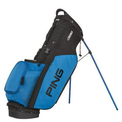 Ping 4 Series Carry Golf Bag (2016) Color:Black/Birdie Blue