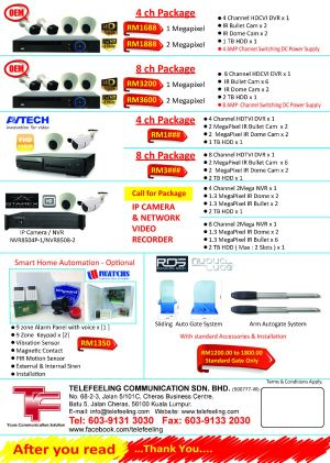 New Year Security System Promotion