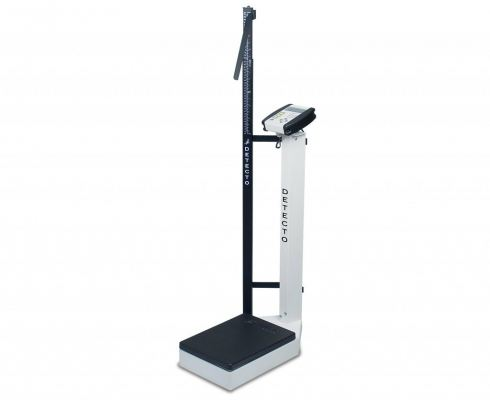DETECTO DIGITAL SCALE-WAIST HIGH WITH HEIGHT ROD - 180KG, 6129