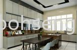 4G Glass Kitchen Cabinet #KAJANG #COUNTRY HEIGHTS Kitchen