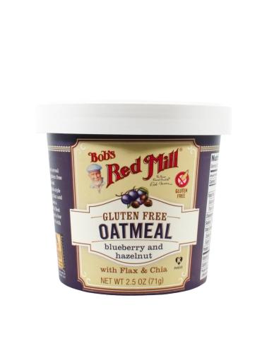 Oatmeal Cup - Bluberry Hazelnut