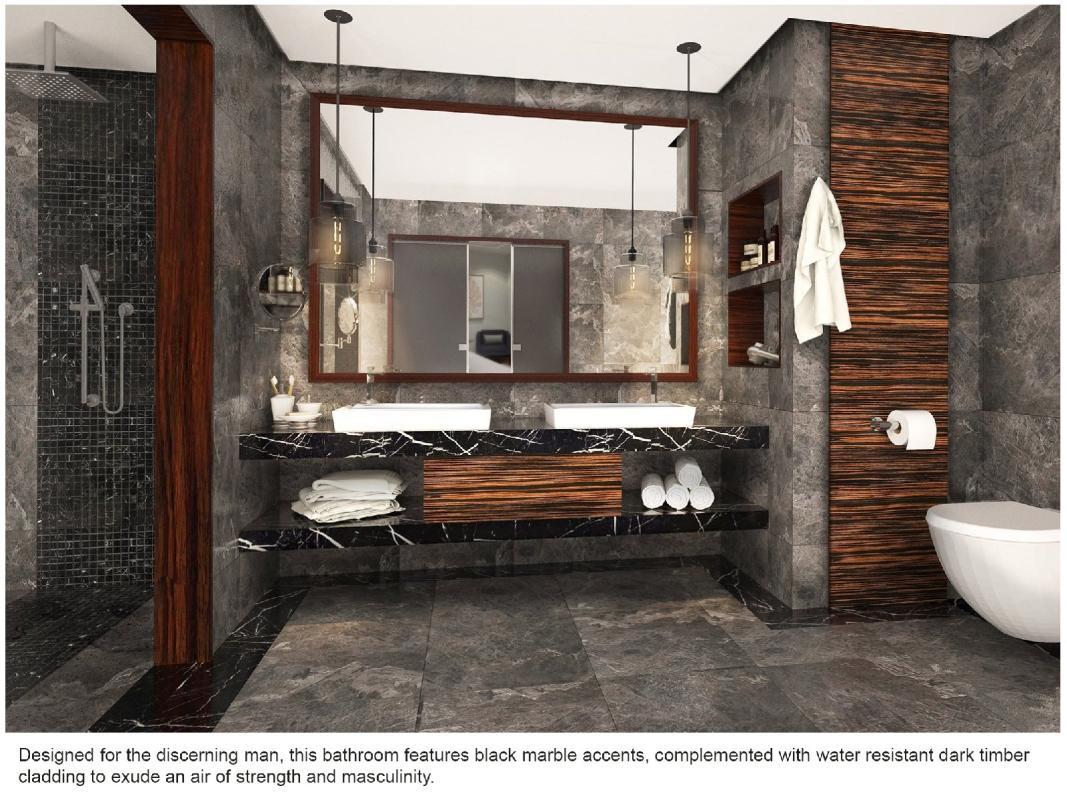 Bathroom Interior Design Residential Kuala Lumpur (KL), Kepong, Malaysia, Selangor Service, Design, Renovation | Mettasia Interior Design