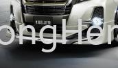 Toyota Alphard 2015 AeroBody Front Skirt Body Kit Toyota Vellfire Alphard 2015