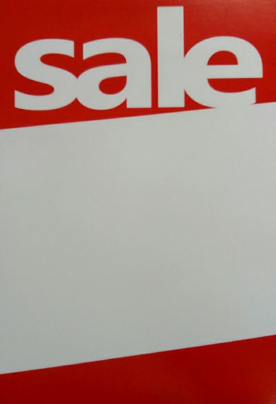 76022-Sale Card A4-20pcs