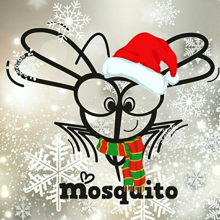 To all Mosquitos out there: Merry Christmas!!!