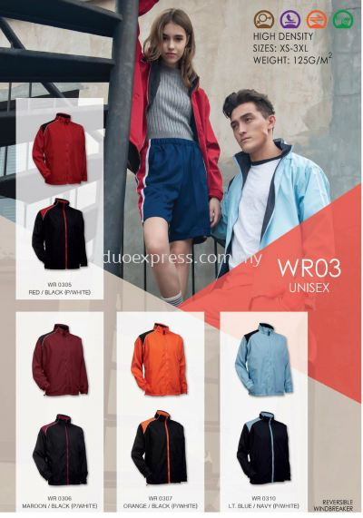 Windbreaker-Vest-Jacket WR-03