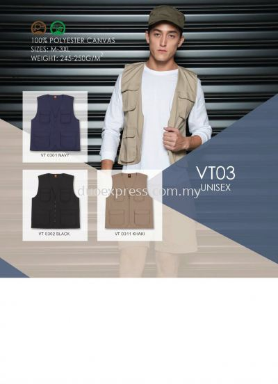 Windbreaker-Vest-Jacket VJ-03