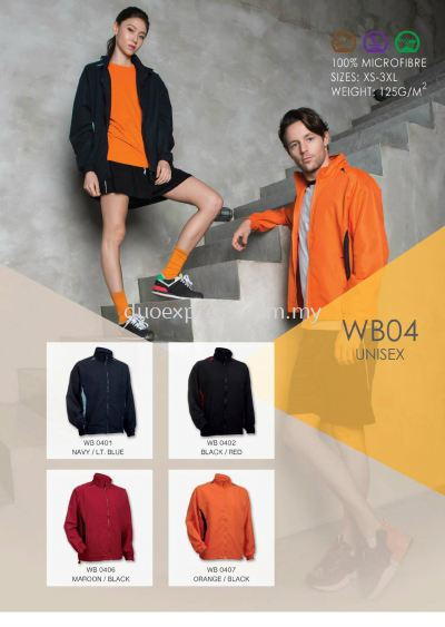 Windbreaker-Vest-Jacket WB-04