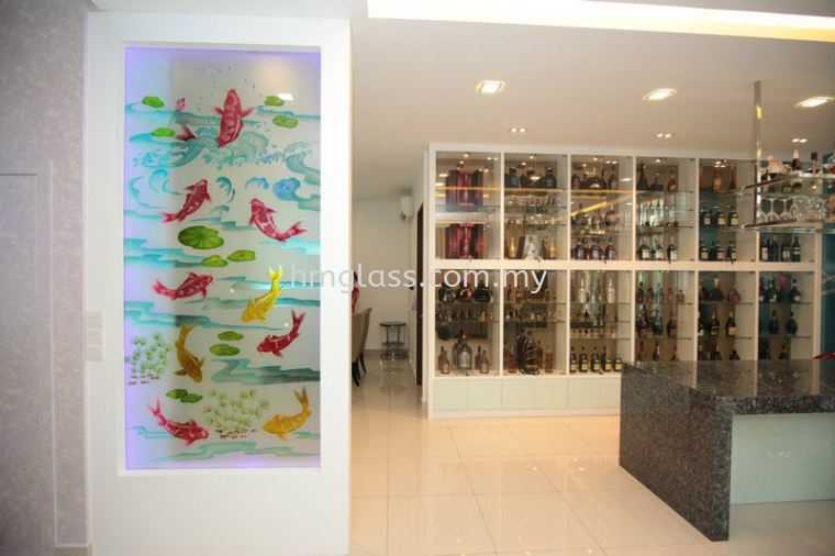 Colour Glass Design