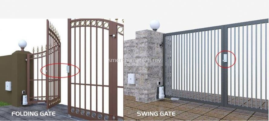 DCMOTO925W AUTO LOCK SWING / FOLDING GATE