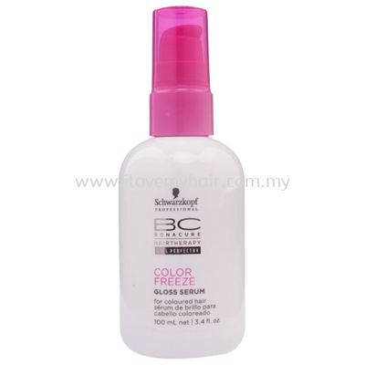 SCHWARZKOPF BONACURE COLOR FREEZE GLOSS SERUM 100ML