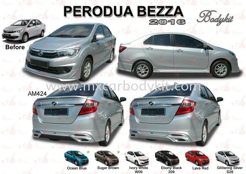 PERODUA BEZZA 2016 AM STYLE BODYKIT WITH SPOILER BEZZA  PERODUA Johor, Malaysia, Johor Bahru (JB), Masai. Supplier, Suppliers, Supply, Supplies | MX Car Body Kit