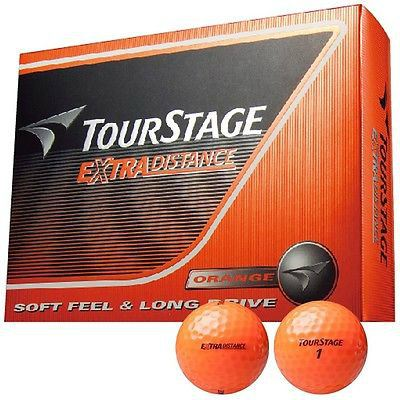 Bridgestone JAPAN TOURSTAGE X01 EXTRA DISTANCE Golf Ball 1 Dozen Orange
