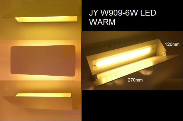 CROWN LED JYW909-6WLEDWARM WALL LIGHT